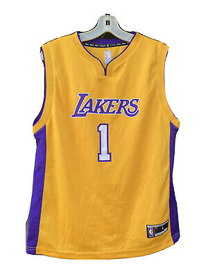 NBA Los Angeles Lakers D'Angelo Russell #1 Jersey Kids Large | eBay