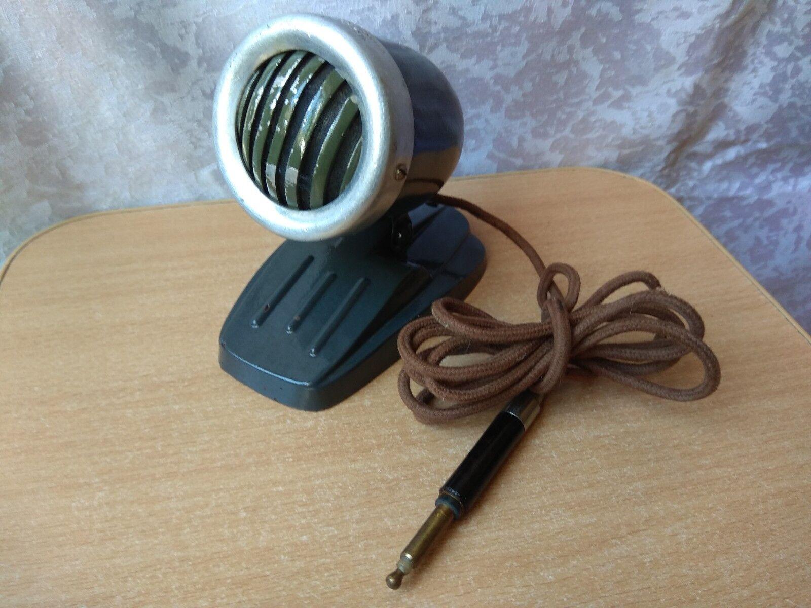 Vintage Rare USSR Russian Soviet Dynamic Microphone MDM-1 OKTAVA 1959 year