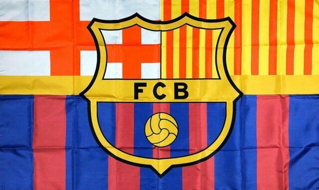 Fc Barcelona Reversible Scarf Futbol Club Barcelona Soccer Official Merchandise Ebay