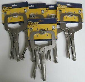 Irwin Vise Grip 19 11 Regular Tips Locking C Clamps