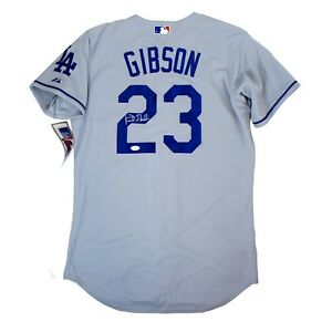 watch bcb66 85090 Details about Kirk Gibson signed Los Angeles Dodgers Authentic On-field  Road Grey Jersey - JSA