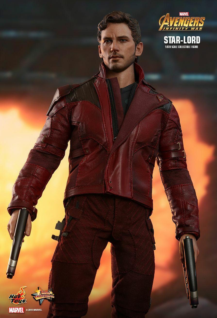 caliente giocattoli 1 6 MMS539-Avengers    INFINITY WAR-Estrella-Lord 7c3039
