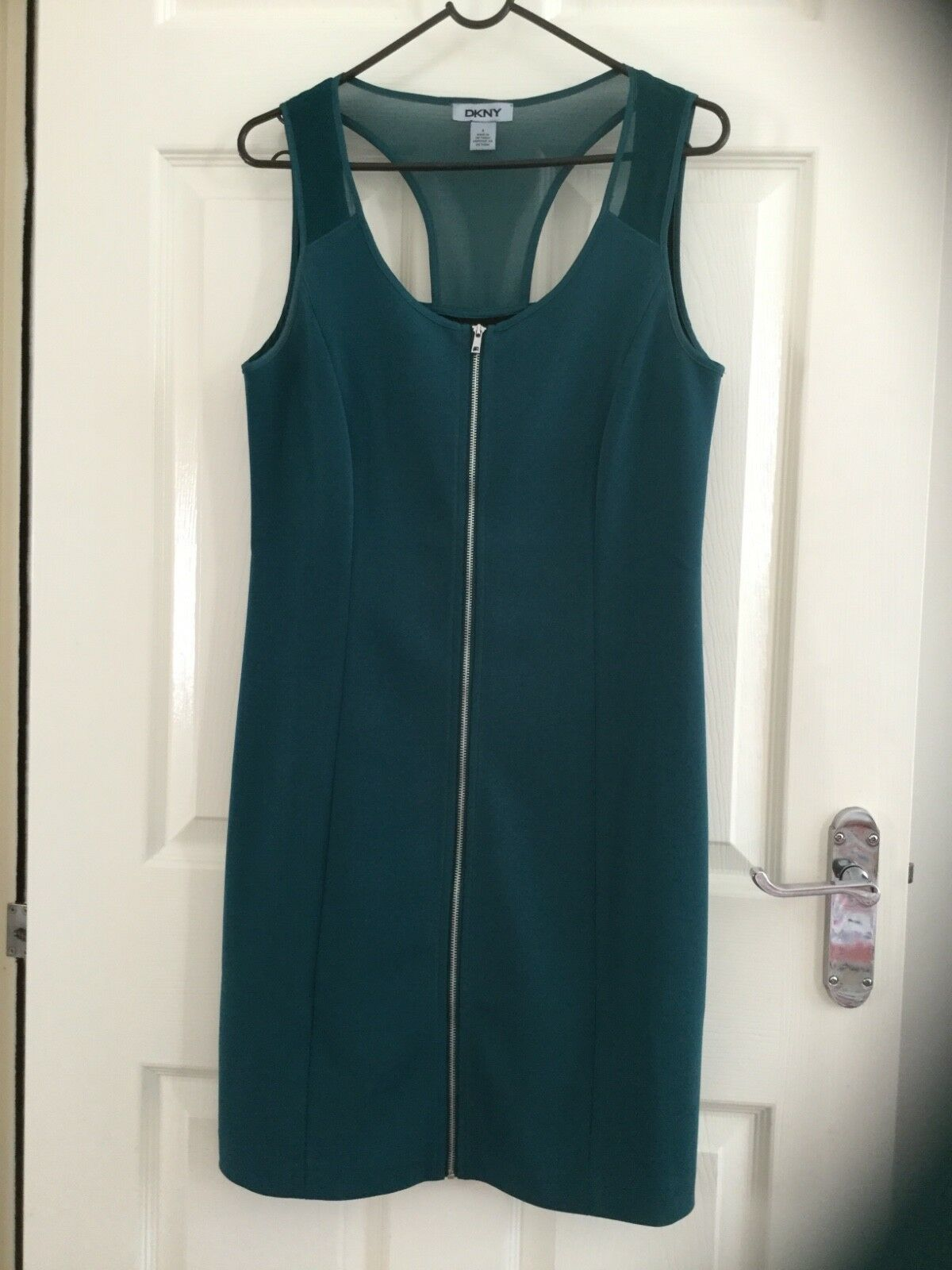DKNY woman dress green size 4 size used