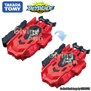 Genuine Takara Tomy Beyblade Burst B 88 Bey Launcher Left Right Red
