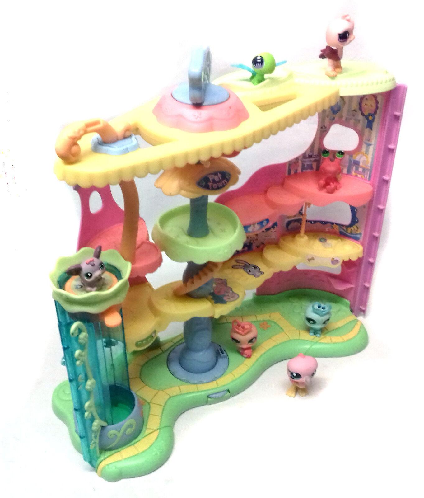 THE LITTLEST PET SHOP Toys Big Playset & Animal figures set lot, cats & dogs
