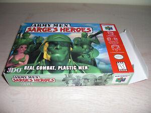Army Men Sarge's Heroes pour Nintendo 64