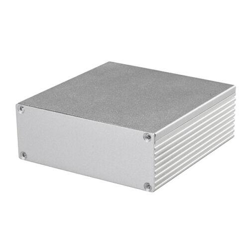 Aluminum Enclosure Electronic DIY PCB Instrument Project Box Case 110x110x40mm