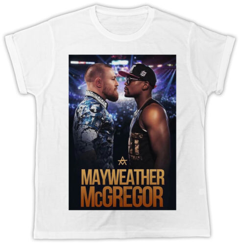 FLOYD MAYWEATHER CONOR MCGREGOR BOXING BOXER IDEAL GIFT UNISEX RETRO COOL TSHIRT