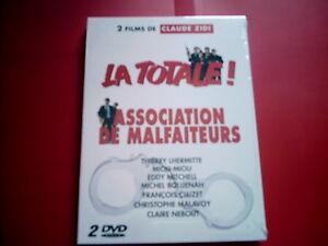 Coffret-Claude-Zidi-2-DVD-La-Totale-Association-de-malfaiteurs-HUMOUR-COMEDIE