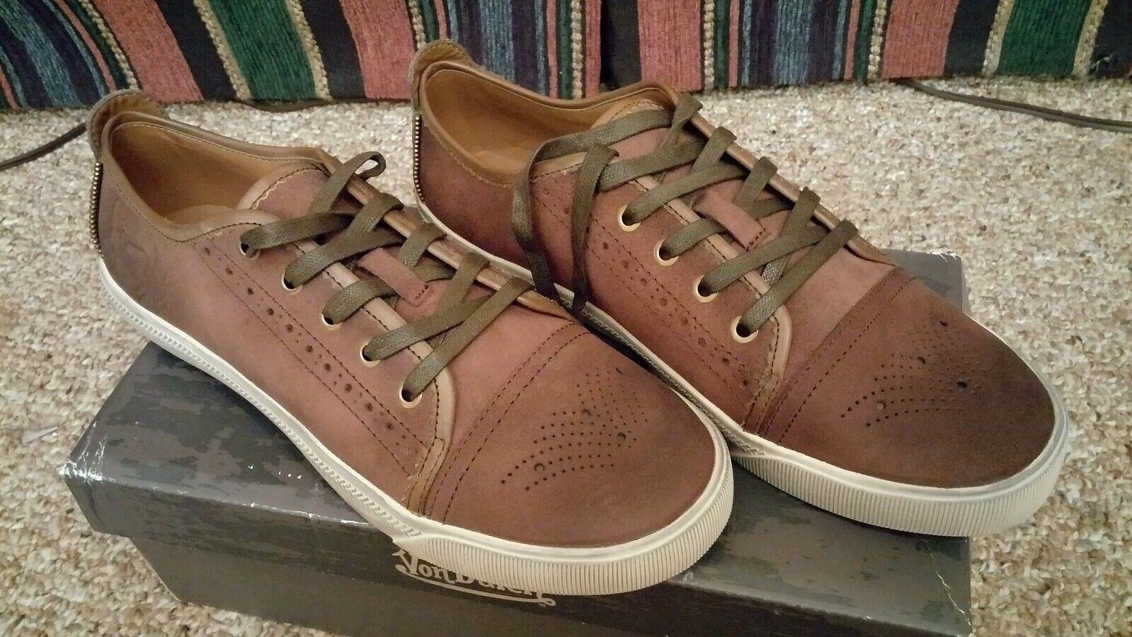 Von dutch transmission brown shoes 9.5