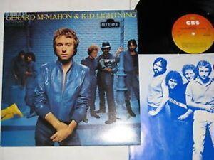 GERARD-McMAHON-amp-KID-LIGHTNING-blue-rue-LP-CBS-Rec-1981-POP-ROCK
