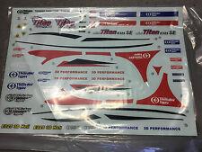 Thunder Tiger PV0843 Mini Titan Calcomanías RC Heli Repuestos se