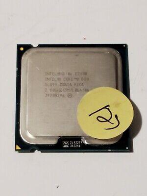 OEM Intel Core 2 Duo Processor E7400 2.8GHz 1066MHz 3MB LGA775 CPU