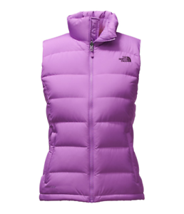 8f4a99d406 Women s North Face Purple Nuptse 2 700 Down Vest Jacket New  149
