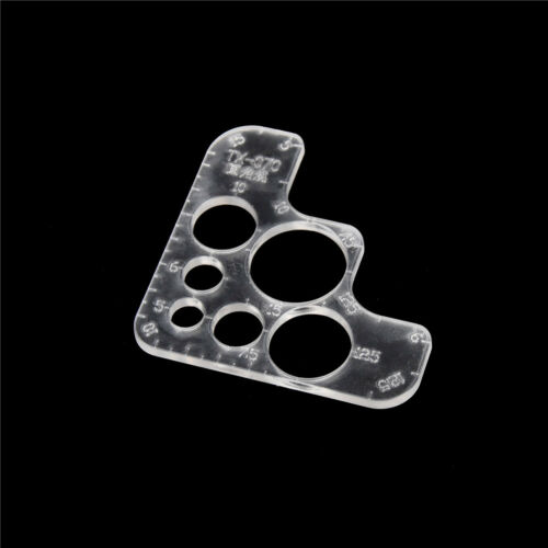 DX-20 Acrylic R Round Corner Module Leather Craft DIY Hand Board Tool 90*90mmPDH