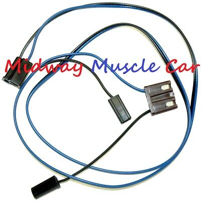2 speed windshield wiper motor wiring harness 63 64 65 Chevy GMC Pickup C10  K10 | eBayeBay