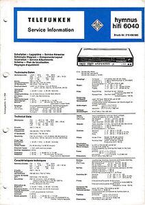 SERVIZIO-MANUALE-DI-ISTRUZIONI-PER-TELEFUNKEN-HYMNUS-6040