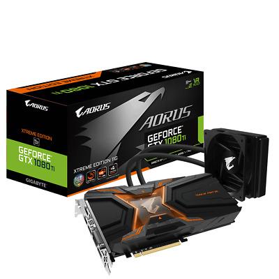 Gigabyte AORUS GeForce GTX 1080 Ti Waterforce Xtreme Edition 11GB GPU Fast  Ship | eBay