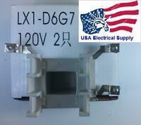 Telemecanique Schneider Coil Lx1-d6g7 120vac Contactor Lc1d40-lc1d95