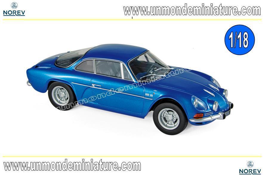 Alpine Renault A110 1600S 1971 bleu   NOREV - NO 185300 - Echelle 1 18 NEWS