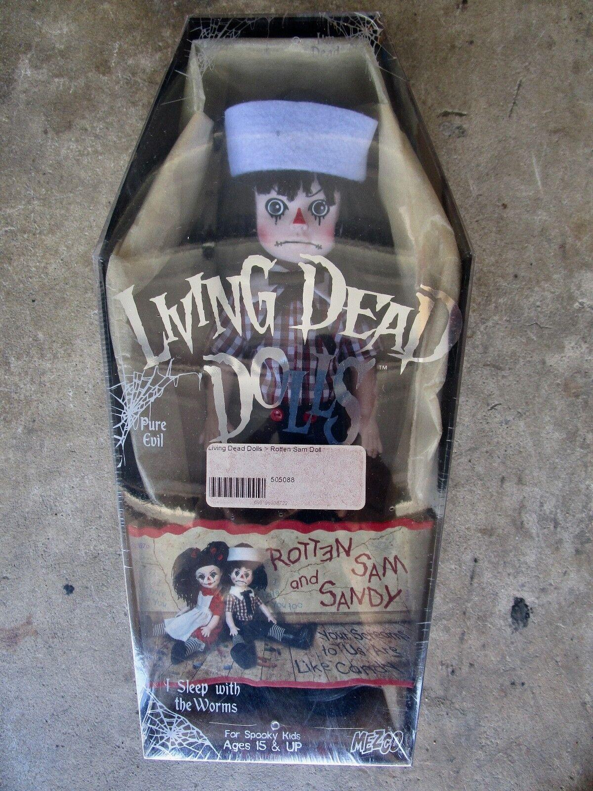 Living Dead Doll-podrido estatuilla de Sam & Sandy-en Caja Sellada