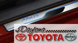 2016-2020 Prius /& Prius Prime Illuminated Door Sills Genuine Toyota PT942-47161