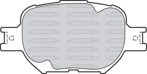 OEM SPEC FRONT DISCS AND PADS 275mm FOR TOYOTA COROLLA VERSO 2.0 TD 2002-04