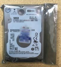 """WD 500GB Internal HDD 2.5"""" Slim SATA WD5000LUCT FACTORY SEALED Western Digital"""