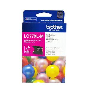 GENUINE-Original-Brother-LC77XLM-MAGENTA-Ink-Cartridge-Toner-LC77XL-M