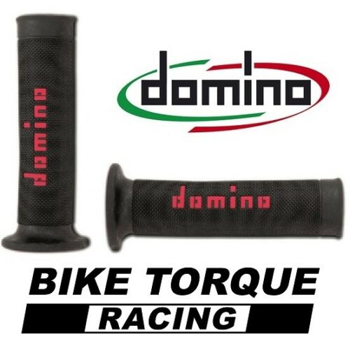 Honda CB650 F  Black /& Red Domino RR Diamond Handle Bar Grips