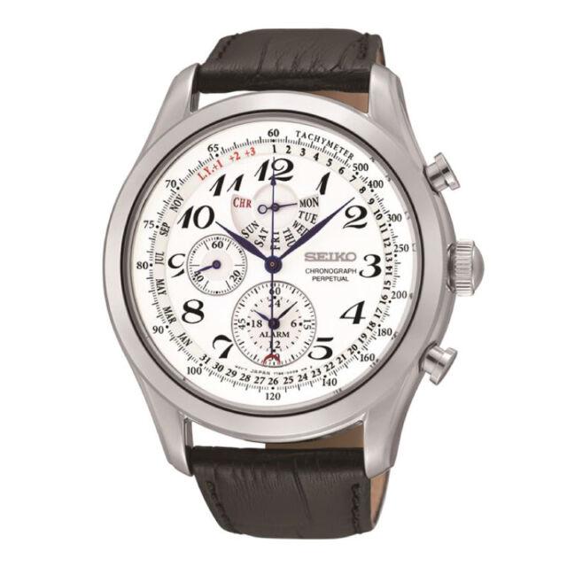 Seiko Chronograph Perpetual Watch SPC131P1 AU FAST & FREE