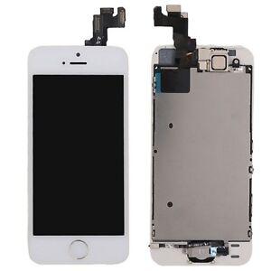 Tout-en-un-Ecran-LCD-Complet-Echange-Touch-Compatible-Apple-Iphone-5S