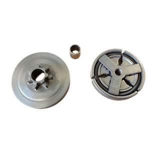 Sprocket Clutch Drum Kit For Chinese 4500 5200 5800//45CC//52CC Chainsaw Parts
