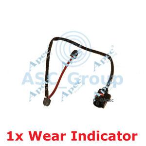 Borg /& Beck Rear Brake Pad Wear Sensor Warning Indicator Genuine OE Quality