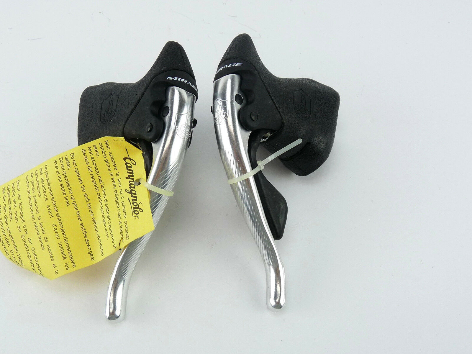 Campagnolo Mirage  8 Speed shifters ErgoPower brake Lever Set Alloy NOS  factory direct and quick delivery
