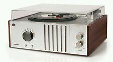 New nostalgic Crosley Mahogany record player turntable AM/FM radio MP3 input