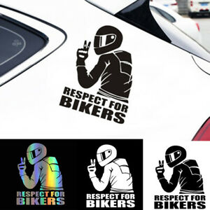 Funny-3D-Respect-For-Waterproof-Reflective-Biker-Motorcycle-Car-Sticker-Decal