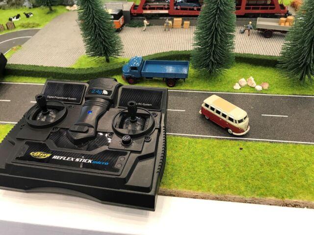 Carson VW T1 Samba Bus 1:87 Eisenbahn H0 Volkswagen Carson 500504119
