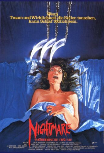2008 horror sci-fi movie poster buy wall art GERMAN A NIGHTMARE ON ELM STREET