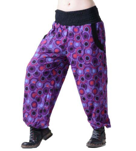 Aladin Pantalon Pluderhose Goa en coton sarouel hippie yoga Wellnes Fair
