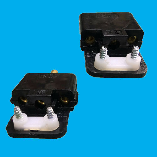 10 A ORANGE Outdoor 3 Broches Câble Wire Lead Coupleur Mâle /& Femelle Socket demandeuse