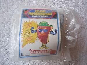 Vintage-1992-McDonalds-Food-Fundamentals-Happy-Meal-Toy-034-SLUGGER-034-NIP-034