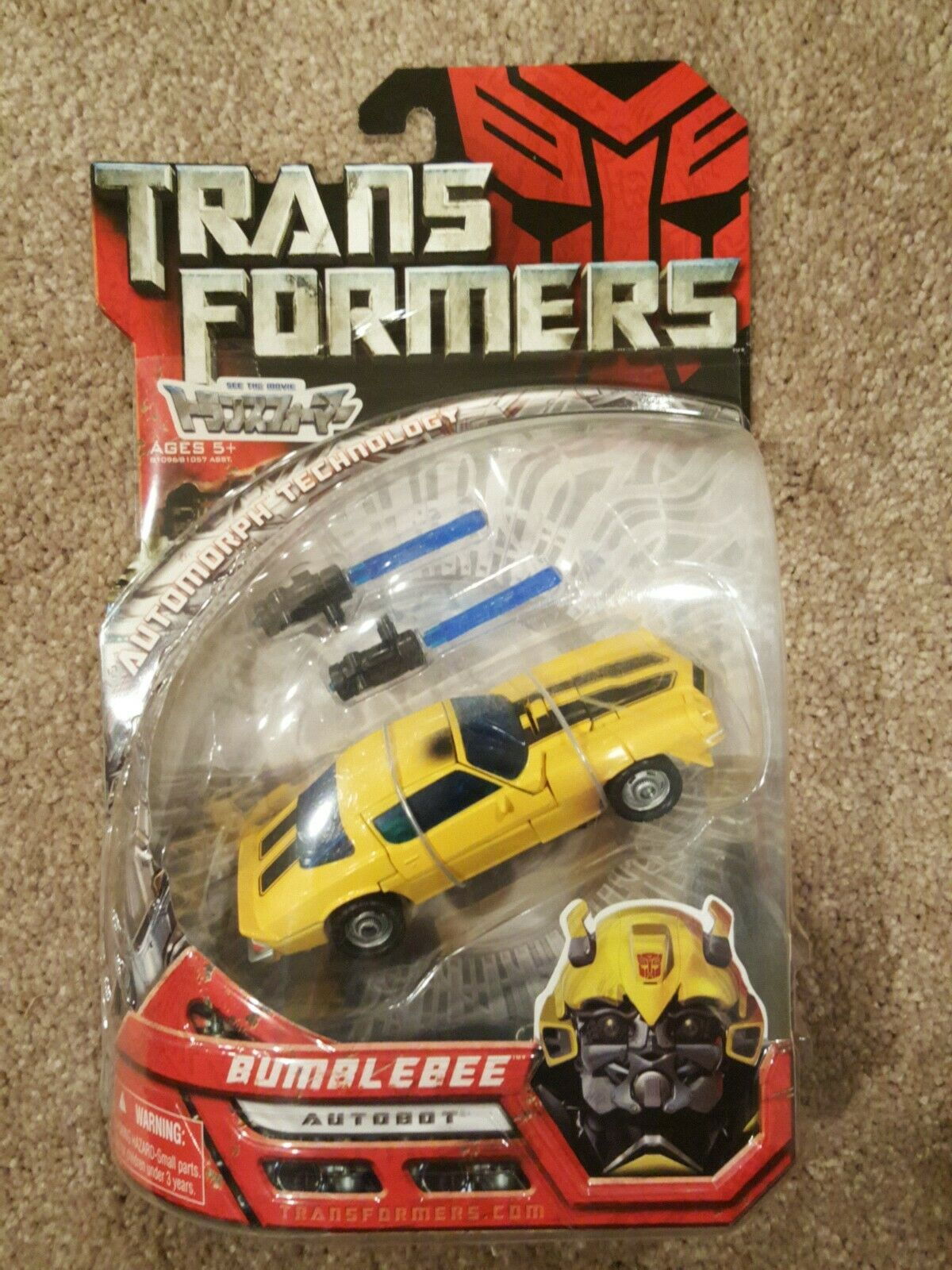 Il GIAPPONE Transformers Movie TFTM Takara MA03 classeic Bumblebee Camaro 74 Nuovo di zecca SU autoTA SIGILLATO