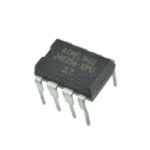 5PCS ATMEL AT24C256 DIP8 24C256 DIP-8 EEPROM NEW TOP QUALITY
