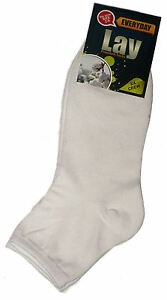12-PAIRS-LADIES-SZ-2-8-WHITE-95-COTTON-3-4-ANKLE-SPORT-SOCKS