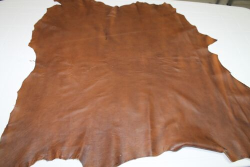 Lambskin leather skin hide skins hides TAN DISTRESSED 35sqf