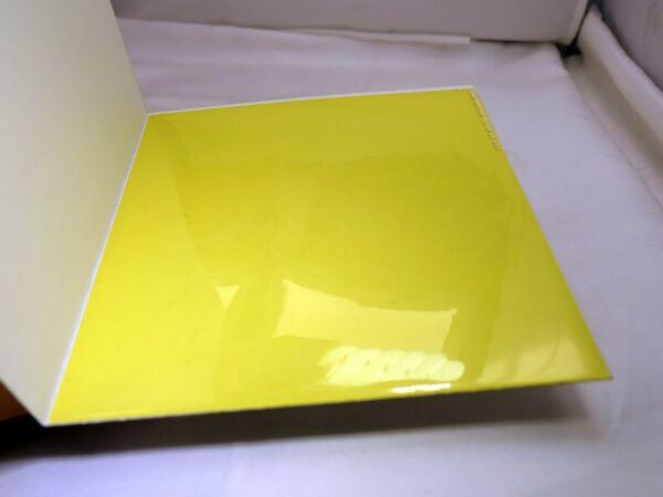 Aimable Kodak Couleur Impression Lentille Filtre 15.2x15.2cm Gélatine Carré Cp-40y Jaune ArôMe Parfumé
