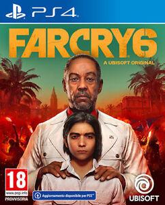 FAR CRY 6 PS4 - ITALIANO - PLAYSTATION 4 - UPGRADE PS5 - UBISOFT