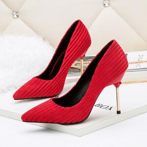 10 Silver Decolte Eleganti Cm Simil Stiletto Rosso Pelle 9905 SqSTw4UP5