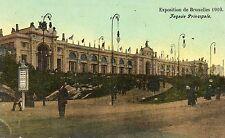 Postkaart - Brussel - Expo 1910 - Hoofdfacade